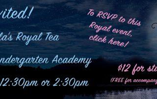 Cinderella's Royal Tea Ad