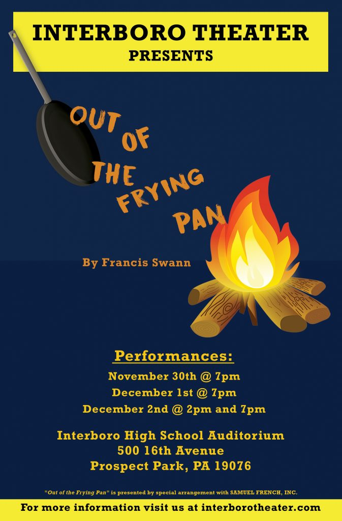 Out of the Frying Pan Poster